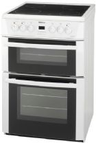 Beko 60cm Twin Cavity Electric Oven Cooker
