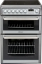 Hotpoint Electric Cooker EW74X Double oven