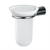 Cone glass tumbler