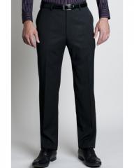 Mens Flat Fronted Pinstripe Standalone Slim Fit