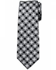 Pure silk multi spot tie