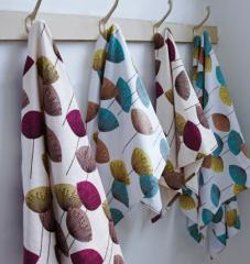 Dandelion Clocks Towels
