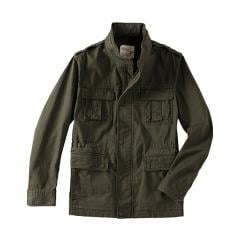Cotton Military Stand Collar Jacket