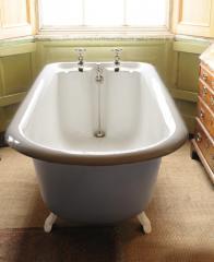 An Edwardian Cast Iron Bath