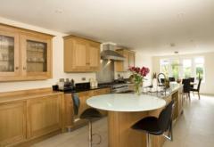 Natural Oak Handmade Bespoke Kitchen