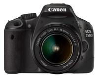 Canon EOS 550D with 18-55mm IS Lens