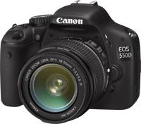 Canon EOS 550D Digital SLR Camera Inc 18-135mm