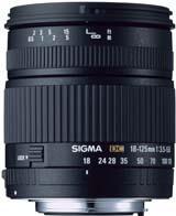 Sigma 18-125mm f/3.5-5.6 DC (Nikon Fit)
