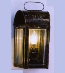 Exterior wall light