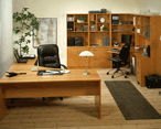 Office Cabinets, Desks, Wall systems