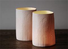 Summer grasses tealight-vases