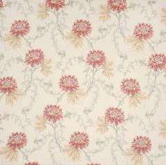 Clematis Red Fabric