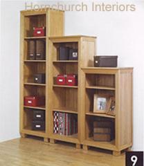 Sussex Oak Small Bookcase