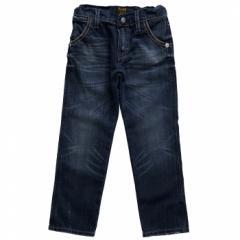 Rare The Kid Boys Blue Denim Zip Pocket Jean