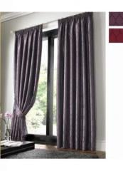 Osbourne Aubergine Ready Made Curtains