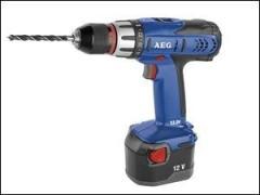 A.E.G. 12v drill driver