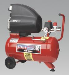 Sealey Compressor 25ltr Direct Drive 2.0hp