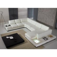 Dali Corner Leather Sofa