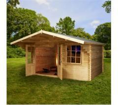 Greenacre Home Office Director Log Cabins