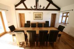 2.4 - 2.9m Tallinn Table & 10 Titan Chairs