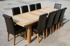 Tallinn Table & 10 Emperor Chairs