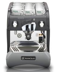 Rancilio Epoca S1 espresso machine.