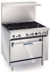 Imperial 6 Burner range cooker