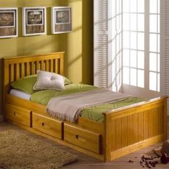 Mission Bedstead (Waxed)