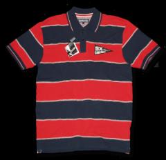 Cut & Sew Badged Polo