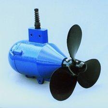Hydro generator, Underwater 100 micro