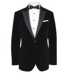 Peak Lapel Velvet Dinner Jacket