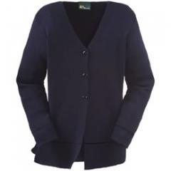 Melrose long-line knitted jacket