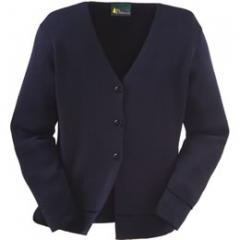 Iona mid-length knitted jacket