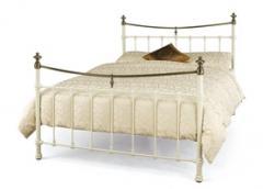 Edwardian Super Kingsize Metal Bed
