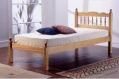 Pine Spindle Beds 3ft single Bed Frame