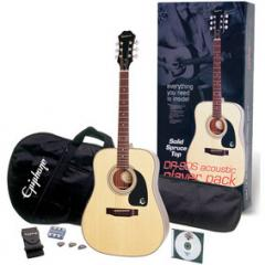Epiphone DR-90S Acoustic Player Pack Guitar