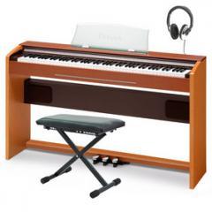 Casio Privia PX-720 Digital Piano, Cherry, Pack