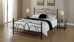 Lily Black King Size Bed Frame