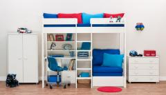 Mi-Space Single Hi-Sleeper Bunk Bed