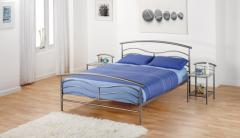 Capri Double Metal Bed Frame