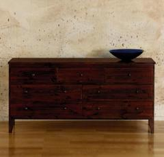 Contemporary 7 Drawer Long Chest