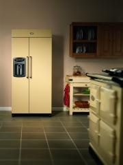The AGA Side-by-Side fridge freezer