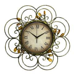 Denton Jewels Metal Wall Clock