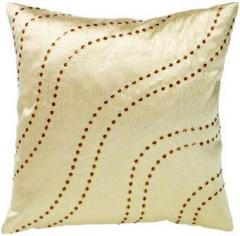 Catherine Lansfield Cream Organza Cushion Cover
