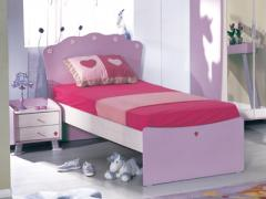 Fe-Lilla Single Bed