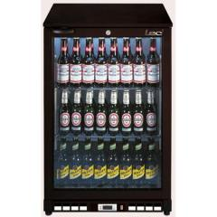 Single Door Bottle Cooler Black