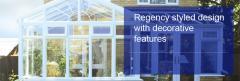 The Regency style conservatory