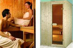 Ready-to-assemble saunas