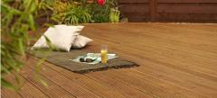 Classic softwood decking