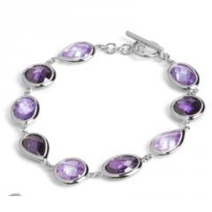 Posh Silver Bracelet